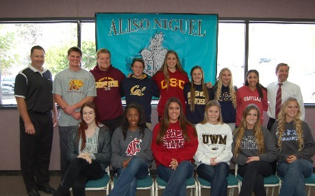Athletes Signing 2013
